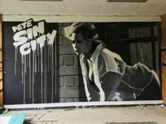 "Street art | Mural ""Pete Sin City"" by Pete One"