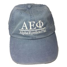 Alpha Epsilon Phi Sorority Hat- Periwinkle - Brothers and Sisters' Greek Store