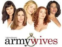 Army Wives <3 pamela!!! so sad she left! :( but as long as trevor stays alive i am happy!