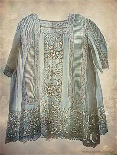 Amazing Edwardian child's dress -- love love love!