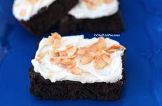 Paleo Friendly Chocolate Coconut Brownies