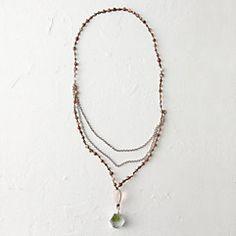 Rose Quartz Locket Necklace