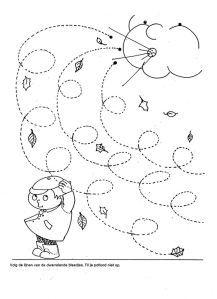 Crafts,Actvities and Worksheets for Preschool,Toddler and Kindergarten.Lots of worksheets and coloring pages. Preschool Writing, Fall Preschool, Tracing Worksheets, Preschool Worksheets, Autumn Crafts, Kids Education, Pre School, Fall Halloween, Preschool Activities