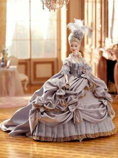 ラデュレの可愛さ...マリーアントワネット・バービーMarieAntoinetteBarbieの甘さの画像:ぁぁ...薔薇は赤い菫は青いそして君は甘いお人形・・・バービー..VintageBarbie#1