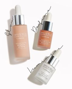 INVISIBLE ILLUMINATION THE SCULPTING RITUAL - The exceptionally easy and natural-looking Nordic take on contouring.  #lumene