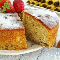 Baking Recipes, Cake Recipes, Dessert Recipes, Desserts, Gateaux Cake, Most Delicious Recipe, Pudding Cake, Turkish Recipes, Cake Cookies