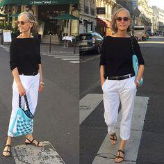 older women fashion over 60 shirts Mature Fashion, Older Women Fashion, 60 Fashion, Over 50 Womens Fashion, Fashion Over 50, Fashion Looks, Fashion Outfits, Stylish Older Women, Fashion Trends