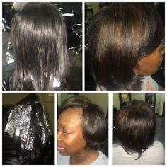 Highlights and a silk body wrap!