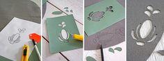DIY carpet - Vilten vloerkleed met patroon.  Met ons stappenplan zo gepiept! Kijk op www.101woonideeen.nl