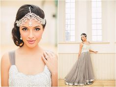 South Asian bride, wedding editorial inspired by classical Indian and European music and dance. ARTIESE Studios, One Heart Films, Ruby Refined Events Toronto Wedding, Wedding Venues, Mehndi Decor, South Asian Bride, Designer Gowns, Headpiece, Wedding Planner, Opera Singer, Ballet School