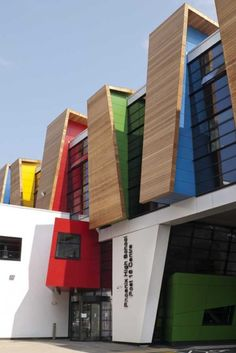 Liqourice Allsorts School, London by Bond Bryan