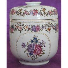 Sucrier En Porcelaine De La Compagnie Des Indes, époque XVIIIeme Siècle