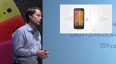Motorola Moto G lanseaza un smartphone colorat, sustine ca el are un ecran mai bun decat Retina Display-ul din iPhone 5S si iPhone 5C