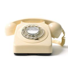 rotary phone: Laura S. had one in her room and we used to play soap opera with it!  (Another memory - Lisa playing soap opera on my phone!)