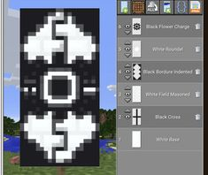Craft Minecraft, Cool Minecraft Banners, Minecraft Banner Designs, Minecraft Plans, Minecraft House Designs, Minecraft Construction, Amazing Minecraft, Minecraft Tutorial, Minecraft Blueprints