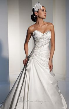 bead embroidery wedding dresses | 2012 beaded and embroidered ball gown wedding dresses