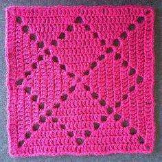 Letras e Artes da Lalá: Squares/quadradinhos de crochê (fotos: google