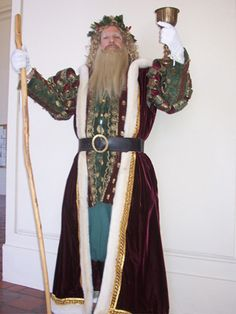 deluxe father christmas costume victorian | Goode Time Father Christmas