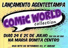 """Coleção """"Comic World"""""""