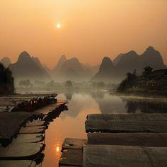 Karst Hills, China  Jeszcze jeden powód by jechać do Chin