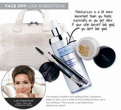 Want to know Lisa Robertson's makeup must-haves? She spills her beauty bag in #QIn magazine!