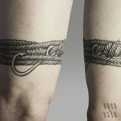 ThePirate #linework #tattoo #lineworktattoo #blackink #rope #hook #knot