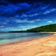 Pink island,Lombok Islands