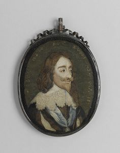 Charles I After an engraving by Wenceslaus Hollar (Wenzel Vaclav)  (Bohemian, Prague 1607–1677 London) dated 1641 Date: 1650–70 Culture: British Medium: Silk and metal thread on silk Dimensions: H. 6 x W. 4 1/2 inches (15.2 x 11.4 cm) Classification: Textiles-Embroidered Credit Line: Purchase, Mrs. Thomas J. Watson Gift, 1939 (39.13.7)