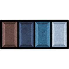 Clé de Peau Beauté Women's Eye Color Quad (€52) ❤ liked on Polyvore featuring beauty products, makeup, eye makeup, eyeshadow, beauty, cosmetics, eyes, filler, blue and palette eyeshadow