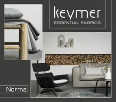 Collectie Norma | #Upholstery #Fabrics | #Meubelstoffen | Keymer Essential Fabrics