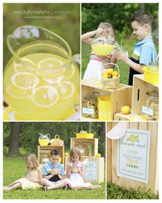 Lemonade Stand | Summer Minis 2012 | Patty K Photography