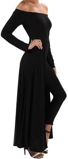 44cb426232dfd Funfash Plus Size Women Gothic Black Pants Leggings Cape Dress Jumpsuit  Jumper Black Jumper Outfit