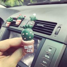 Cactus Car Air Vent