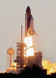 NASA space shuttle Endeavour lifts off from Launch Pad 39A at the Kennedy Space Center on May 16, 2011 in Cape Canaveral, Florida. After 20 years, 25 missions and more than 115 million miles in space