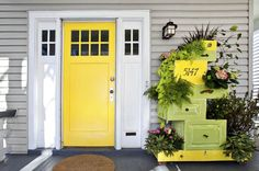 Looking for vertical garden ideas? Try using dresser drawers from a thrift shop find! We'll show you how with this recycled garden project.