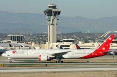 V Australia - Boeing 777-3ZG/ER (VH-VPF) - LAX