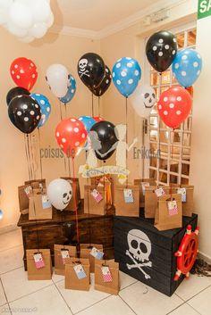 Coisas de Erikota: Festa Piratas