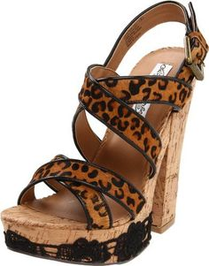 Naughty Monkey Women's Bourdois Platform Sandal $54.15