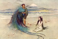 The Robe of Feathers by Warwick Goble
