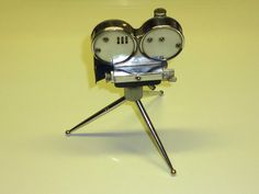 VINTAGE SEMI-AUTOMATIC TABLE CAMERA LIGHTER - TISCHFEUERZEUG - MADE IN JAPAN