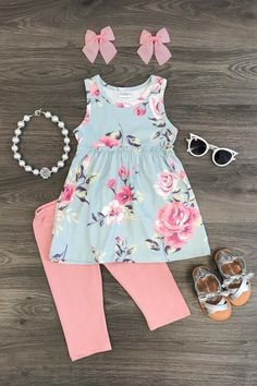 Shop our adorable collection of baby clothes! From cute dresses and rompers to adorable overalls, your baby is going to be the most fashionable on the block! Shop the baby collection today! Cute Baby Girl Outfits, Cute Outfits For Kids, Toddler Girl Outfits, Toddler Fashion, Kids Fashion, Winter Fashion, Fashion Tips, Toddler Girl Style, Toddler Girls