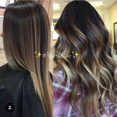 41 beautiful blends of balayage ombre hair colors for 2019 00006 – nothingideas Chocolate Brown Hair Pale Skin, Brown Ombre Hair, Ombre Hair Color, Hair Color For Fair Skin, Hair Color And Cut, Cool Hair Color, Hair Colors, Non Blondes, Balayage Hair