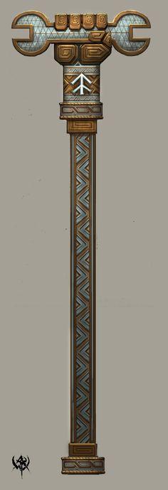 2007 Concept arts WHO. Part Warhammer FB Fantasy Dwarf, Fantasy Rpg, Medieval Fantasy, Armor Concept, Concept Art, Warhammer Dwarfs, Dark Souls, Walking Sticks And Canes, Fantasy Weapons