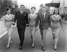 Hugh O'Brian, Pamela Tiffin, Dolores Hart, Karlheinz Böhm, Lois Nettleton - Come Fly With Me (1963)