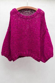 Fuchsia Esperanza Sweater Mes Demoiselles $ 443 shopheist.com