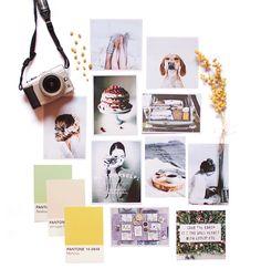 Moodboard de Rocío Maldonado para Hello! Blogging #hellocreatividad