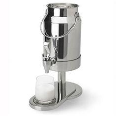 Vollrath 4635110 5 Qt. Somerville Milk Dispenser