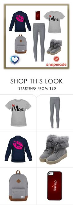 """Snapmade13"" by imsirovic-813 ❤ liked on Polyvore featuring ATM by Anthony Thomas Melillo, WithChic and Herschel Supply Co."