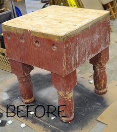 Ever After in the Woods : DIY Butcher Block Restoration