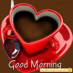 Good morning love! Missed my coffee this morning :-( busy breaking camp.